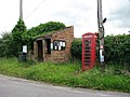 Bus shelter and telephone box - geograph.org.uk - 876165.jpg