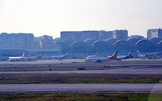 Chongqing Jiangbei International Airport - Aircraft movement is increasing rapidly post-2011 at Chongqing Jiangbei International Airport.