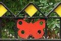 Butterfly railings, Belfast - geograph.org.uk - 1470987.jpg