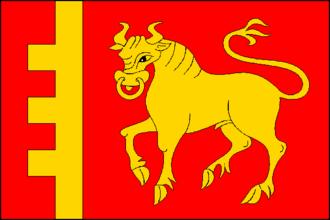 Býkovice - Image: Bykovice CZ flag