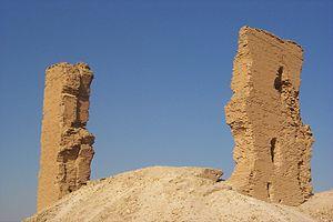 Barbalissos - Byzantine tower at Barbalissos
