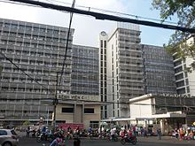 Photograph of Cho Ray Hospital, Ho Chi Minh City's largest general hospital