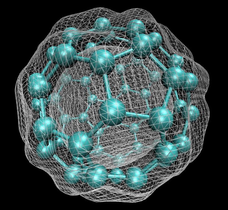 C60 isosurface