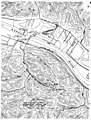 CAB Accident Report, Pennsylvania-Central Airlines Flight 143 - Airport, surrounding terrain and flight path.jpg