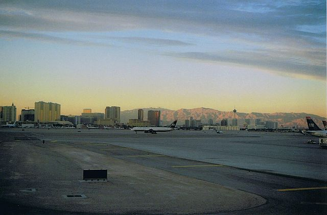 Las Vegas Airport View