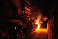 CESC Transformer Caught Fire - GKW Area - Andul Road - Howrah 2016-03-28 2586.JPG