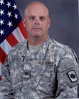 39th Infantry Brigade Combat Team (United States) - Image: COL Kirk E. Van Pelt