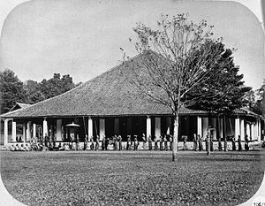 Pawai kehormatan regent Magelang (1866)