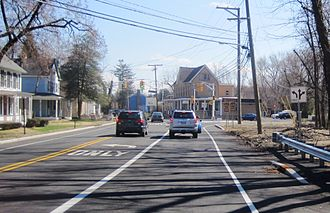 County Route 535 (New Jersey) - CR 535 and CR 526 in Edinburg