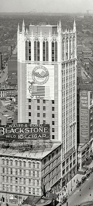 Louis Kamper - Cadillac Square Building, 1918 (demolished)