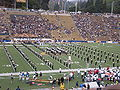 Cal Band performing pregame at EWU at Cal 2009-09-12 12.JPG