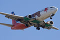 California One Southwest Airlines N609SW Boeing 737-3H4 SJC.jpg