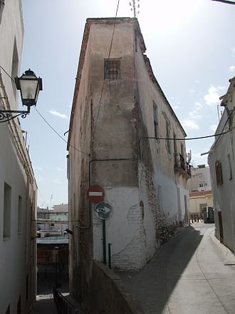 Adra, Spain - Typical street in Adra, March 2011
