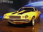 Bumblebee depicted as a 1977 and 5th-gen Camaro.