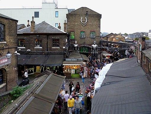 Camden Market und Cyberdog