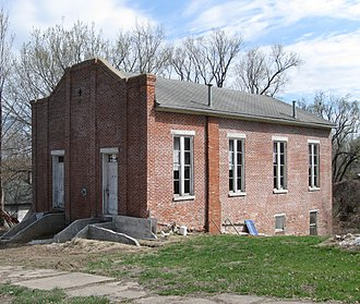 National Register of Historic Places listings in Howard County, Missouri - Image: Campbell Chapel African Methodist Episcopal Church