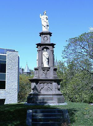 Battle of Ridgeway - Image: Canadian Volunteer Monument