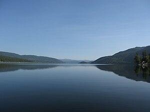 Canim Lake (British Columbia) - Image: Canim Lake