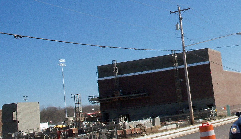 Canton South High School Under Construction