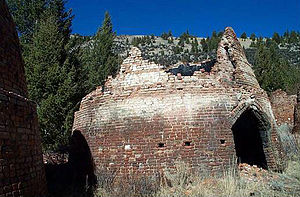 National Register of Historic Places listings in Beaverhead County, Montana - Image: Canyon Creek Charcoal Kilns
