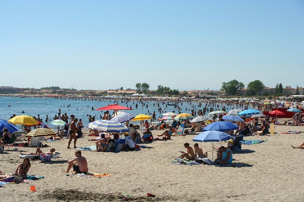 Plage Richelieu, Cap d'Agde, Languedoc