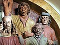 Cappella della casa di caifa, gesù oltraggiato, attr. a benedetto buglioni ed agnolo di polo, 05.jpg