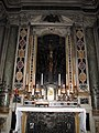 Cappella usimbardi, felice palma, crocifisso, 1614.JPG