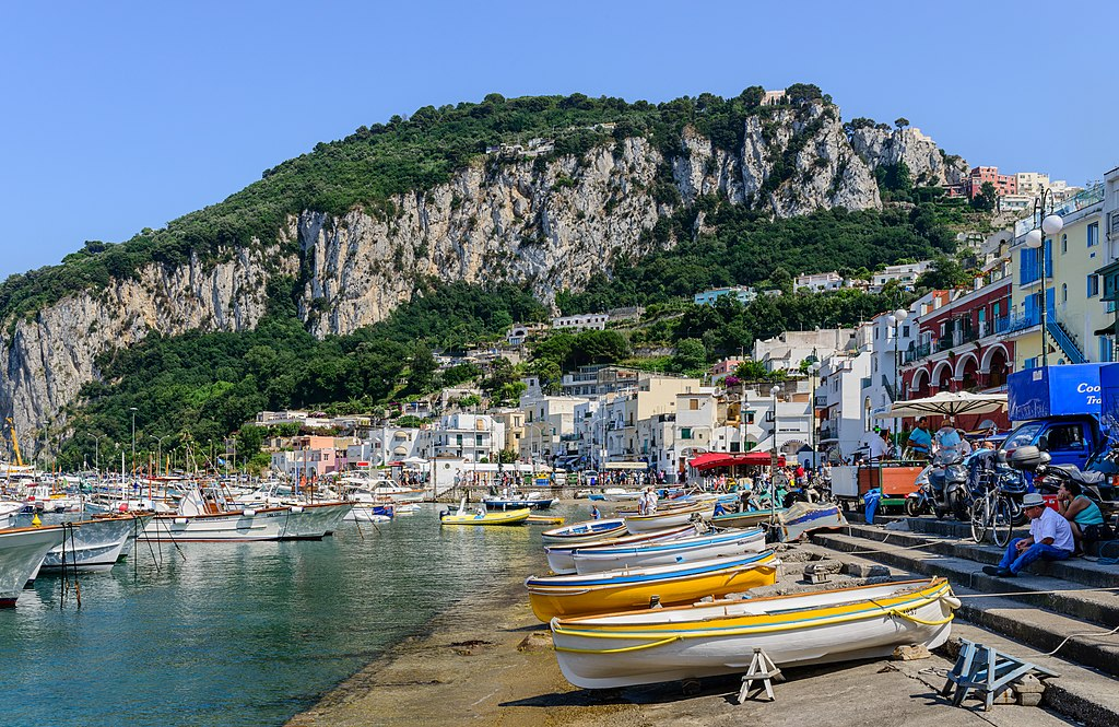 Marina Grande à Capri - Norbert Nagel / Wikimedia Commons License: CC BY-SA 3.0