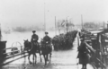Capt. A Raley and Lt Col A.E. Bernard leading the Royal Newfoundland Regiment across the Rhine after the Armistice.png