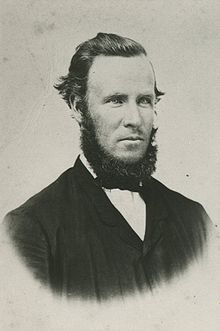 black and white image of Robert Wilson with beard