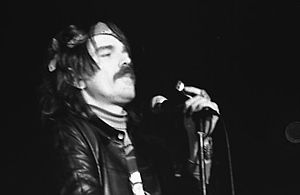 Captain Beefheart - Beefheart performing at Convocation Hall, Toronto, in 1974.