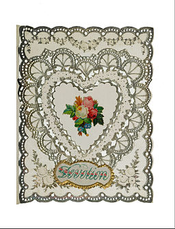 Card; valentine card - Google Art Project (540150)