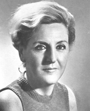 Carla Capponi - Carla Capponi in 1970