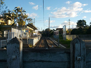 Carlingford railway line railway line and rail service in Sydney, New South Wales, Australia