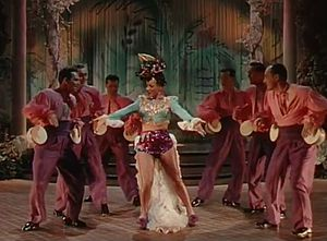 Something for the Boys (film) - Image: Carmen Miranda in Something for the Boys