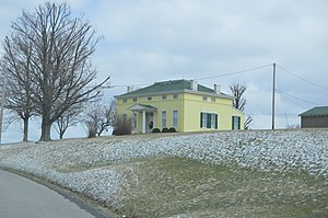 National Register of Historic Places listings in Ohio County, West Virginia - Image: Carter Farmhouse