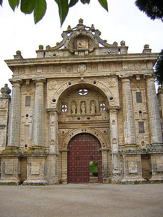 Jerez de la Frontera Charterhouse - Image: Cartuja portada