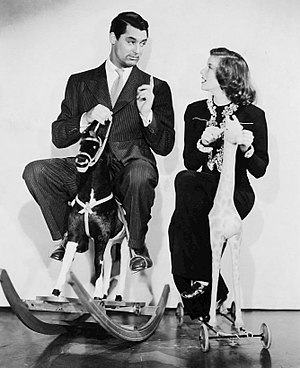 Holiday (1938 film) - Cary Grant and Katharine Hepburn
