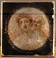 Casa del bracciale d'oro, affreschi dalla parete merdiionale del triclinio con nozze di alessandro magno e rossane, 50-79 dc ca. 05.jpg
