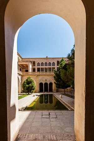 Abbāsi House - View of one of several courtyards of the House.