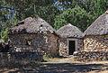 Casas castrexas. Área recreativa de San Roque. Ribeira. Galiza-2.jpg
