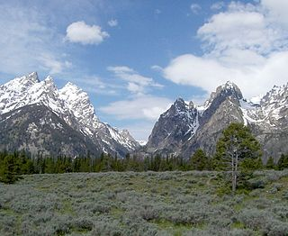 Canyon located in Grand Teton National Park, in the U.S. state of Wyoming