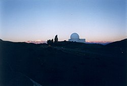 Dome of the Jorge Sahade Telescope at Leoncito Astronomical Complex