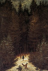 Caspar David Friedrich - The Chasseur in the Forest - WGA8247