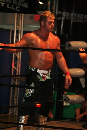 Cassidy O'Reilly - O'Reilly in the ring in May 2011.