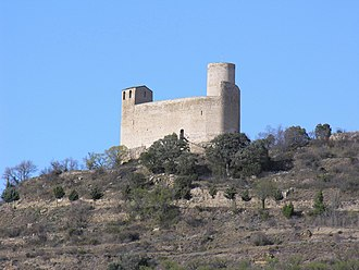 Castell de Mur - Mur Castle, which gives its name to the municipality