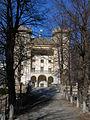 Castello di Aymavilles in inverno facciata.JPG