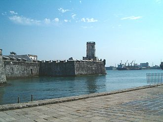 San Juan de Ulúa - The fortress overlooking the Port of Veracruz