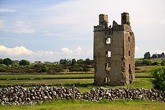 Barnaderg - Barnaderg Castle, County Galway.
