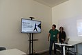 Catarina Reis and Miguel Mimoso Correia in the Wikidata Days 2019 01.jpg
